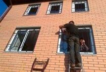 Монтаж решеток в Новокузнецке
